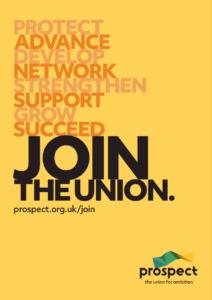 Prospect join poster