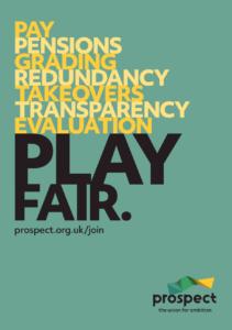 Prospect play fair poster