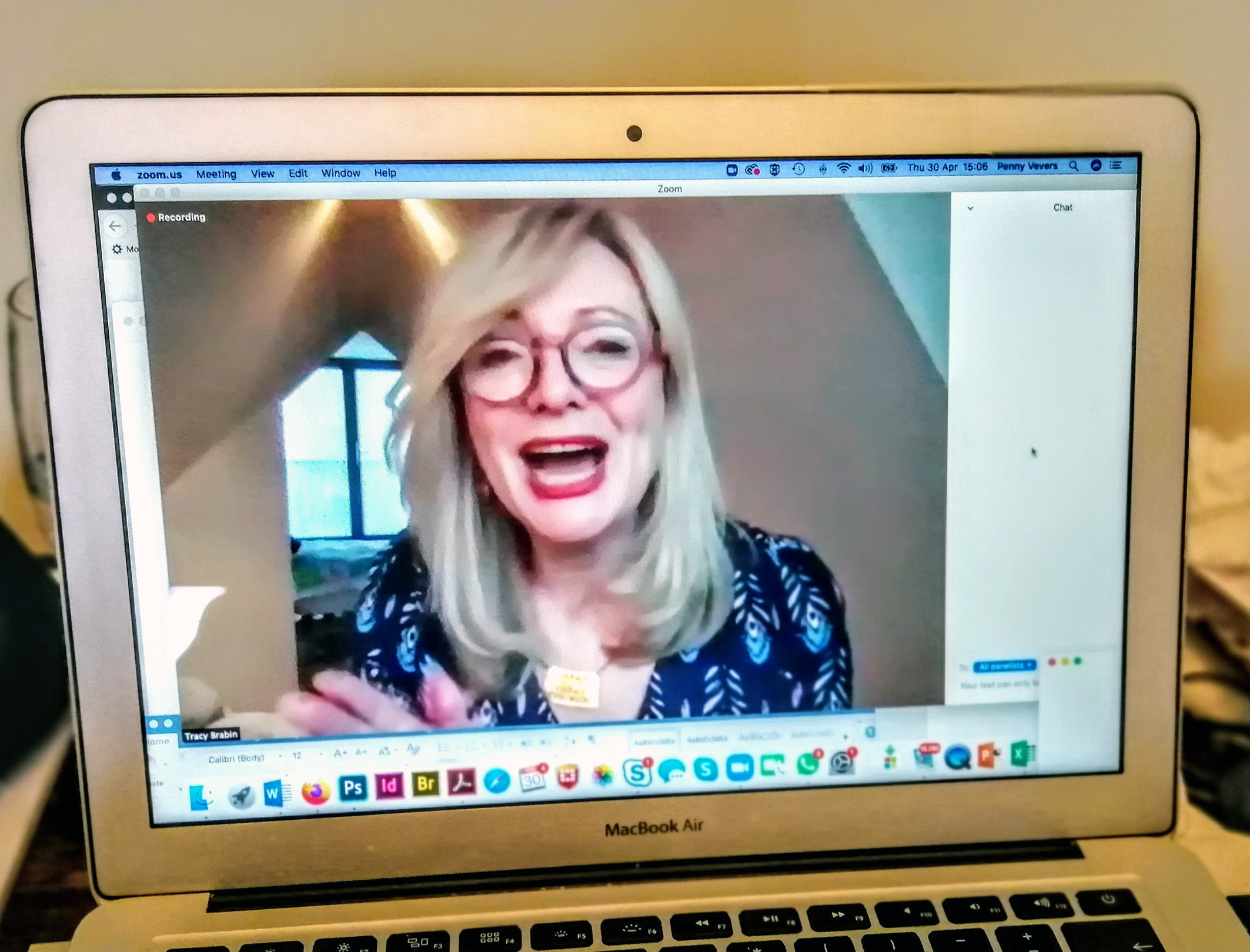 Tracy Brabin MP and shadow creative industries minister at a Bectu webinar on 30 April 2020