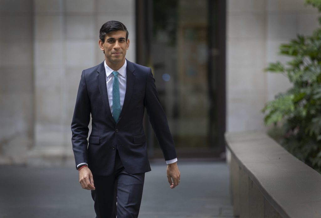 April 27, Chancellor Rishi Sunak announces micro loan for small businesses. https://creativecommons.org/licenses/by-nc-nd/2.0/ Credit Simon Walker HM Treasury
