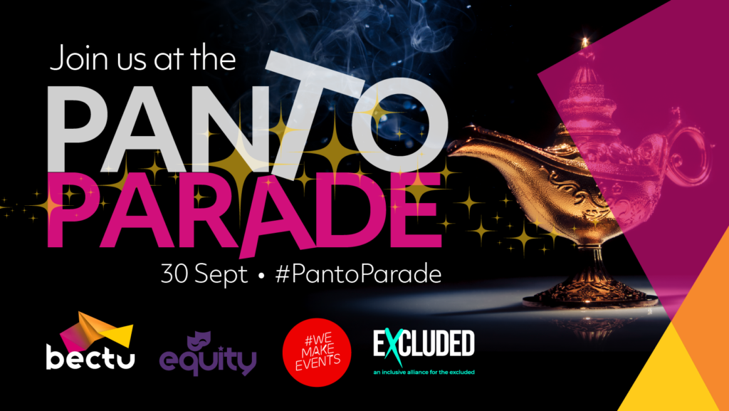 Panto Parade graphic