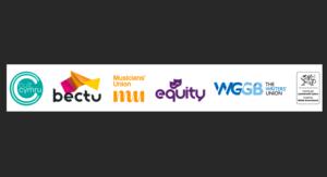 Bectu Cult Cwmru logos of supporting organisations