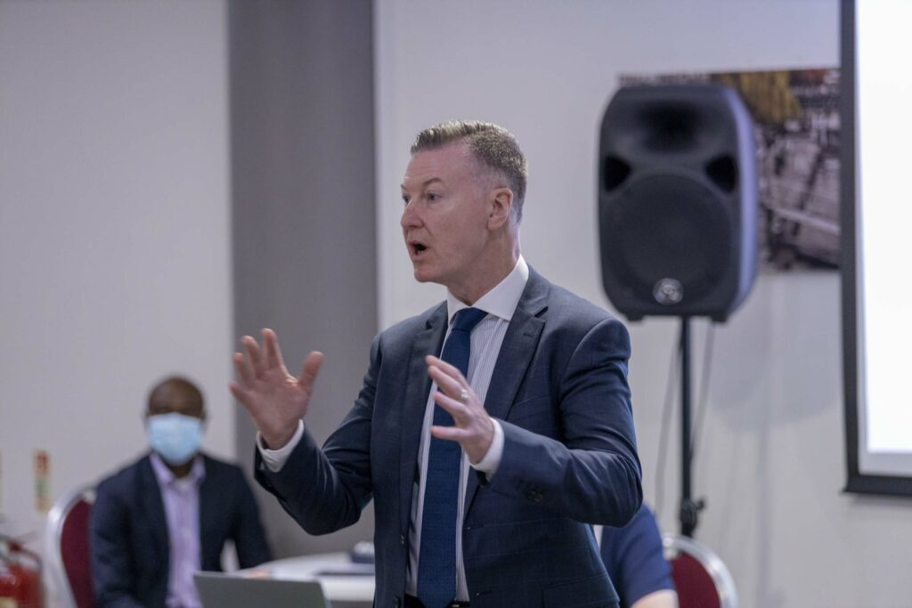 Mike Clancy addressing Prospect energy sector conference 2021